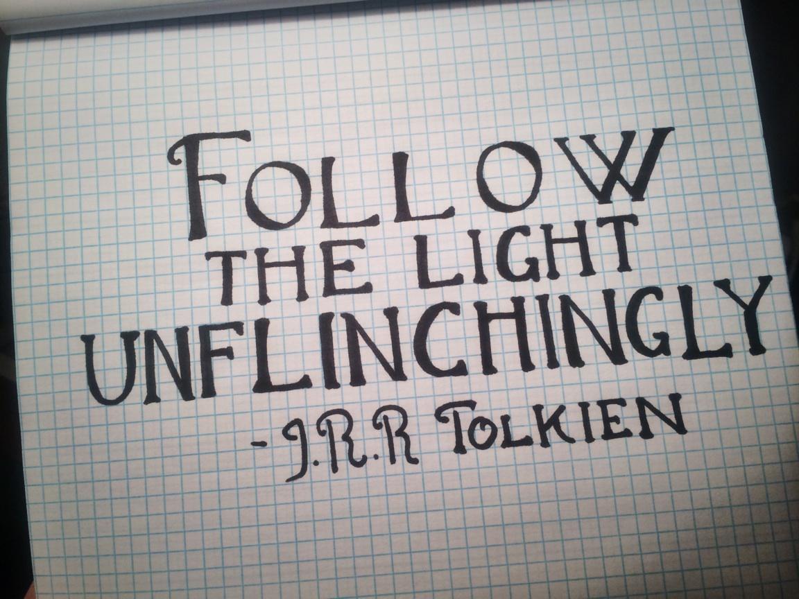 Jrr Tolkien Quotes About Life Sharpie  Joodles Doodles